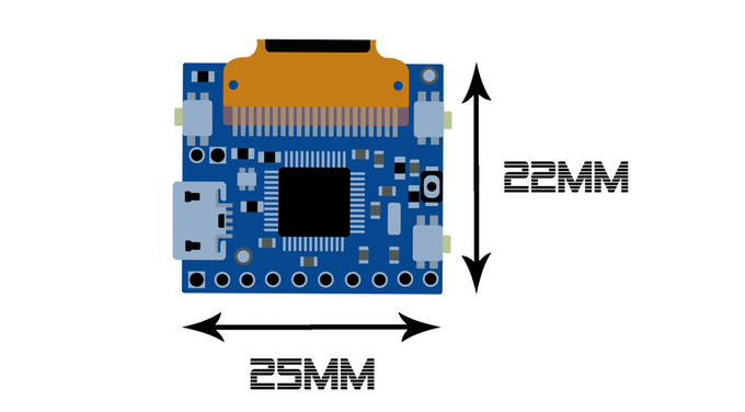 PocketScreen - World's smallest Arduino compatible multitool by