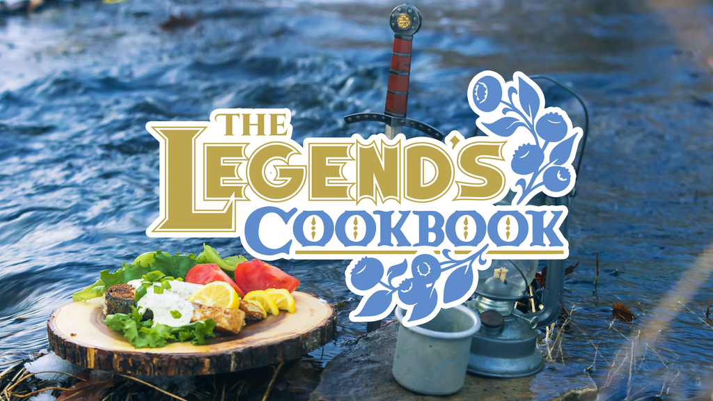 The Legend's Cookbook – Game-Inspired Recipes & Adventures project video thumbnail