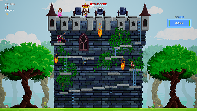 Stage 1 - The Castle Wall