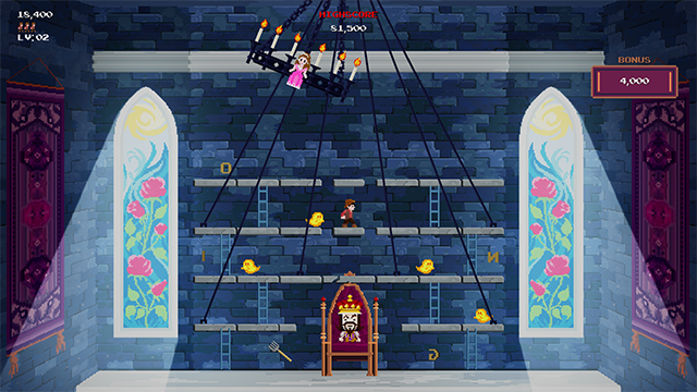 Stage 4 - The Throne Room