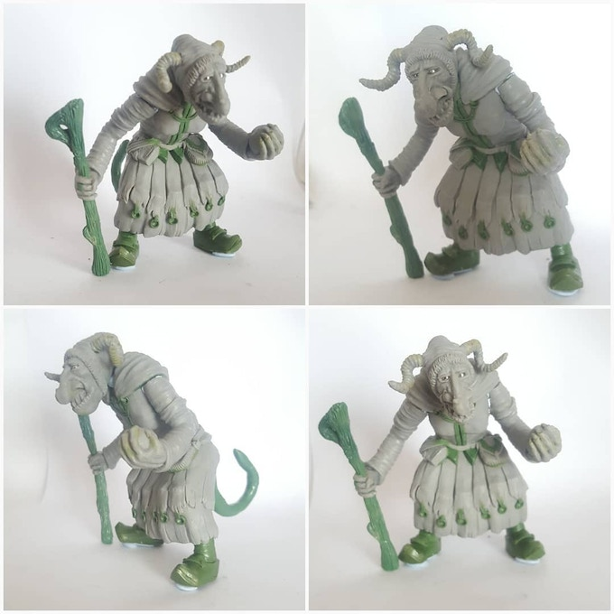 the hag. 90 mm high.