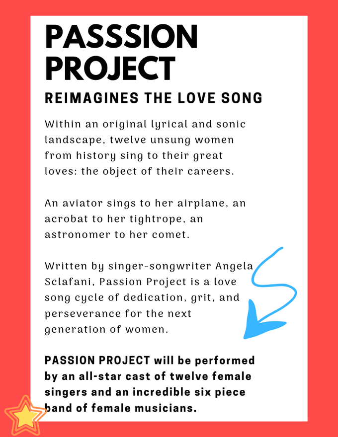 Passion Project: Love Songs from Women to their Work