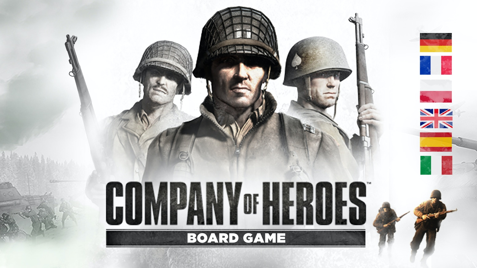 A board game port of one of the greatest WWII strategy games of all time.