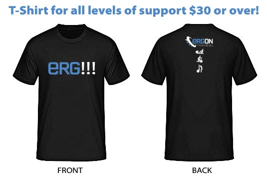 "Wear your ""ERG!!!"" shirt with pride - Those that know... know. Those that don't... might ask."