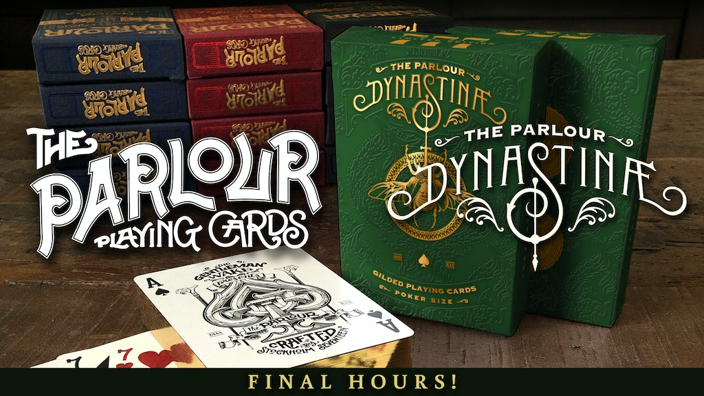 The Parlour Playing Cards project video thumbnail