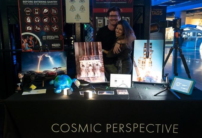 Ryan and MaryLiz at NASA Kennedy Space Center