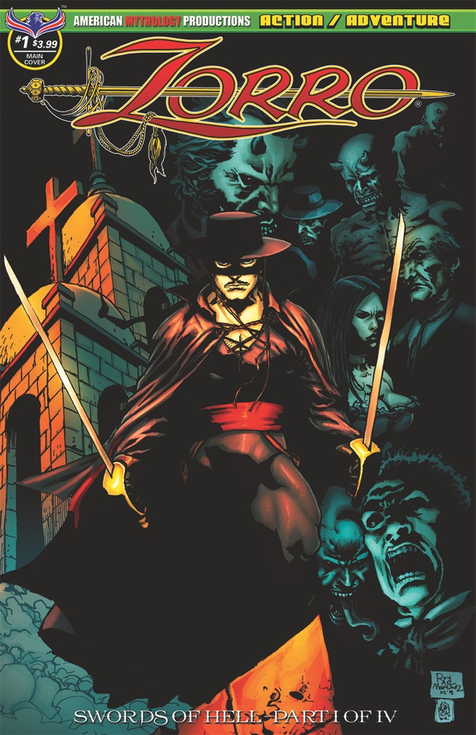 Zorro Swords of Hell #1 from American Mythology