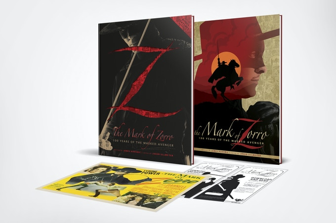 The Mark of Zorro Deluxe (Die Cut Foil Stamped Dust Jacketed Ed) and Standard Edition!