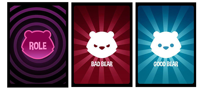 In each game, one bear has secretly gone insane from the radiation. Things are definitely going to get messy.