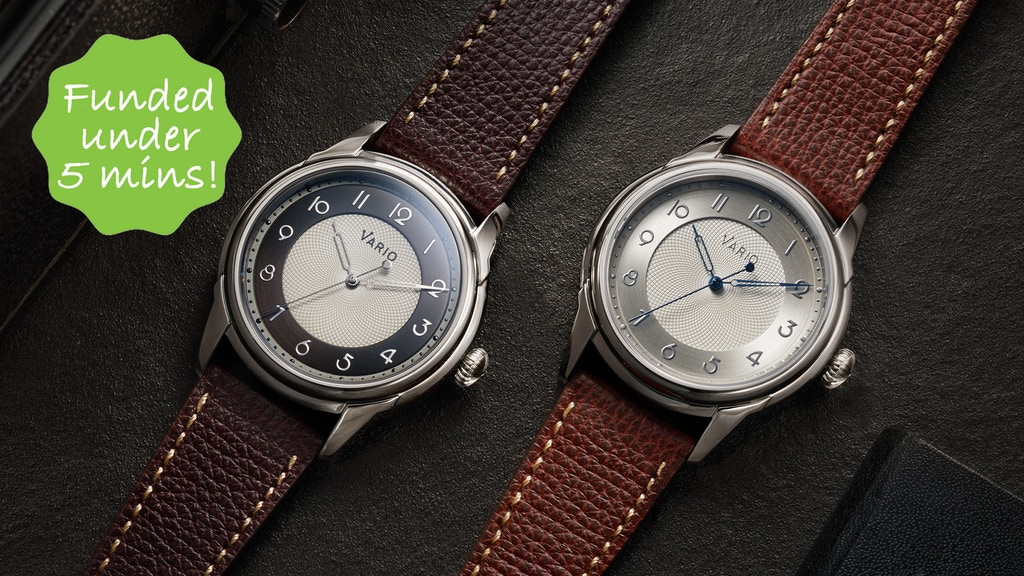 Vario Empire Automatic | Handwound Watch project video thumbnail