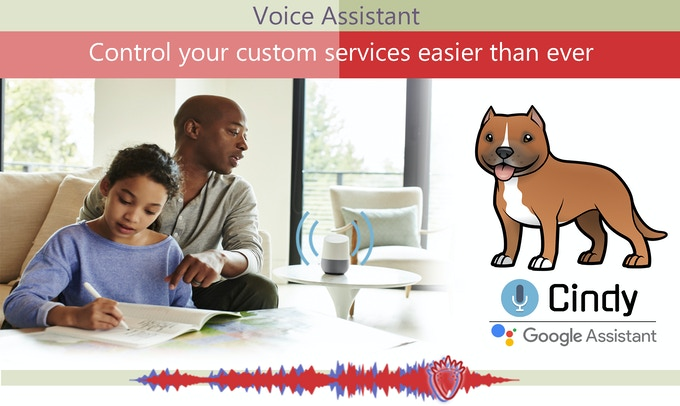 Our voice assistant to control your services fastest than ever.