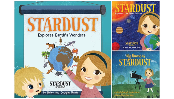 Bailey Harris is the author of the Stardust series of science books for young readers