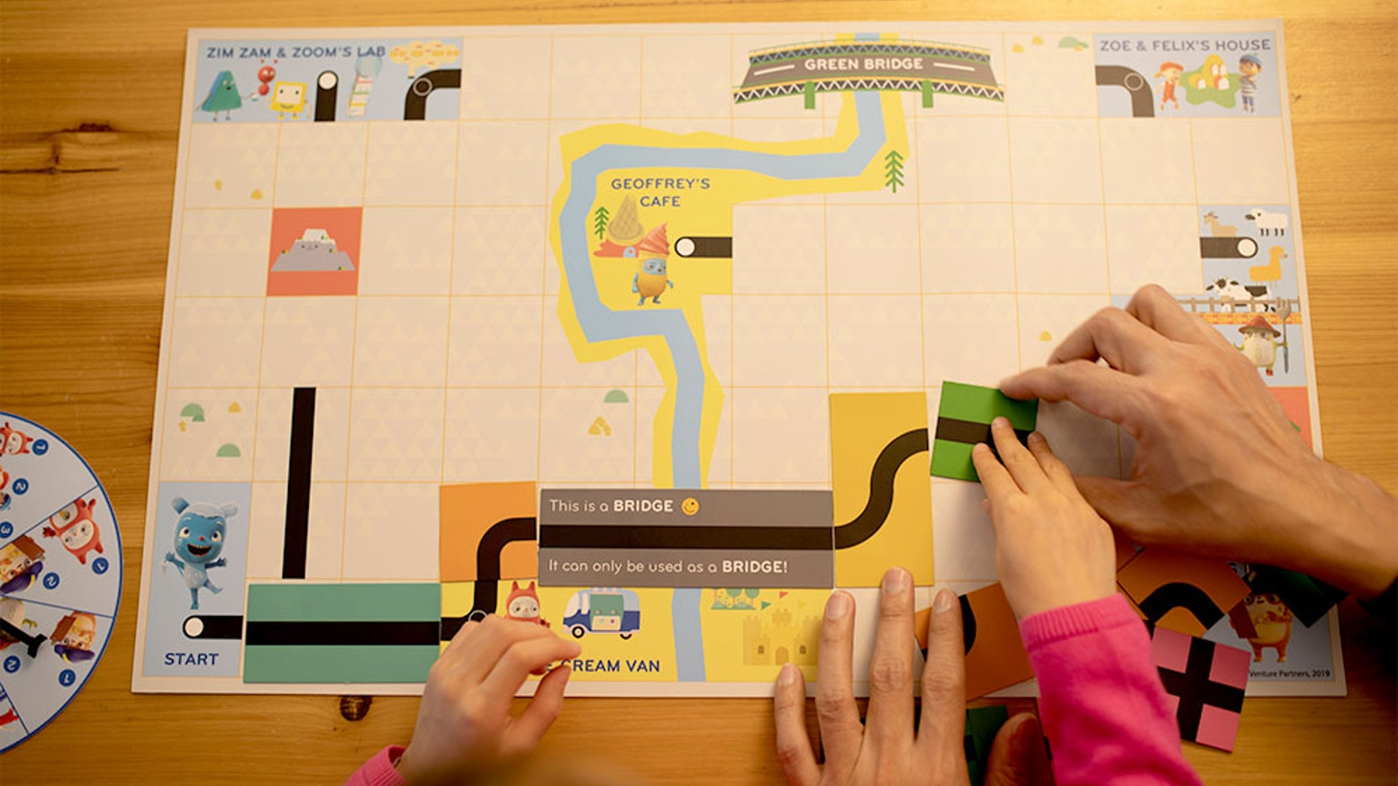 A strategy board game that teaches 4 top coding skills for 4-8 year olds.