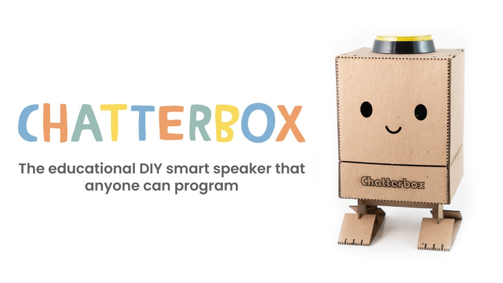 Chatterbox: the DIY smart speaker that anyone can program project video thumbnail