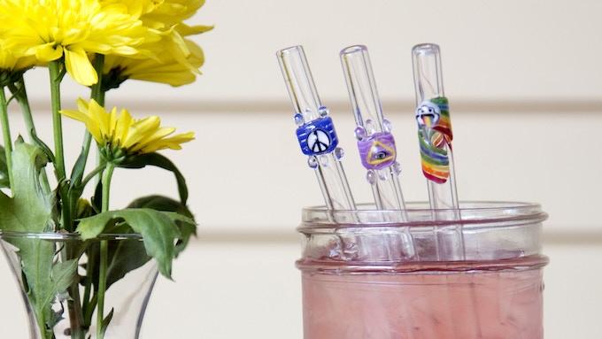 Reusable Designer Glass Straws by J9 Glass — Kickstarter