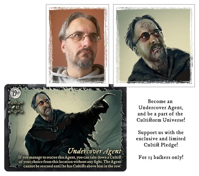 Commander of the Cults - Sandor Szucs, game designer
