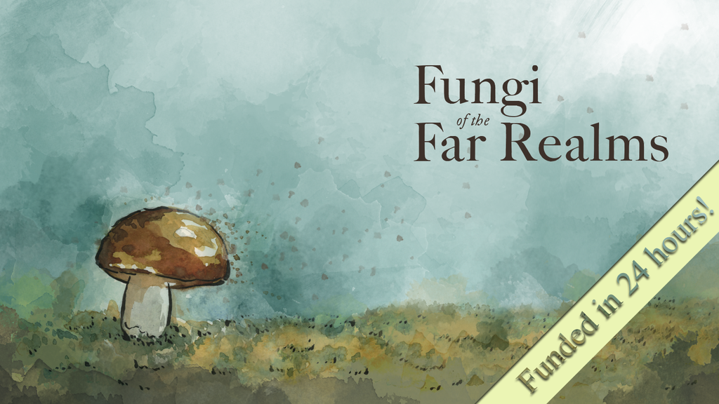 Fungi of the Far Realms - a fictional fungal field guide project video thumbnail