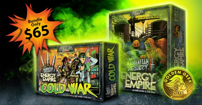 Get both for just $65 -- that's like getting the expansion and promos and shipping for free!
