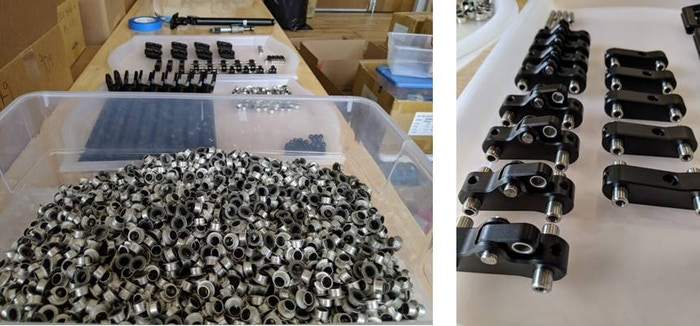 Production Sample Part Assembly