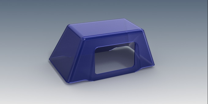 The Catboxpro Dome (cover) keeps litter in.