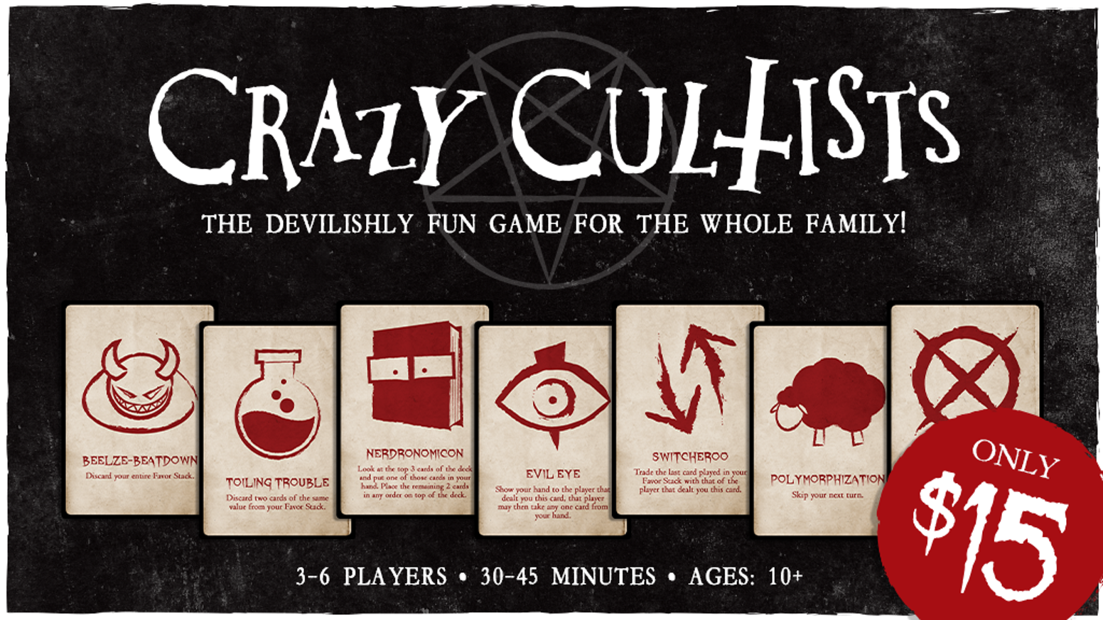 Crazy Cultists: The Devilishly Fun Game For The Whole Family by