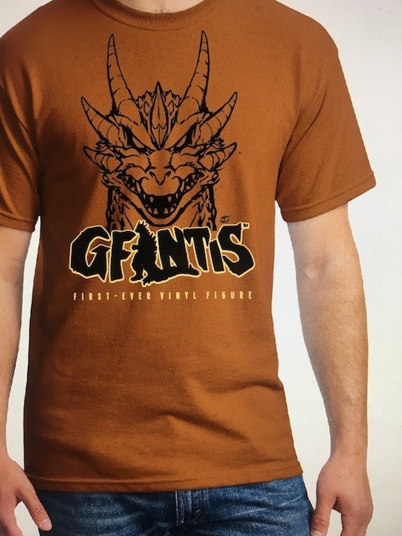 G-Fest XXIV GFANTIS Figure Project T-shirt (some details may vary).