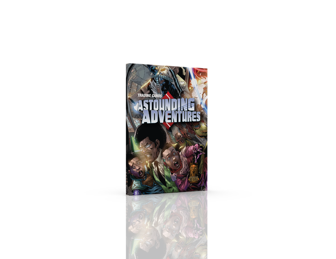 Astounding Adventures Trading Cards (Get Your Special Introductory Sneak Peek) Edition