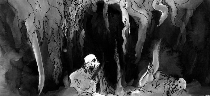 """فم الموت - """"The Mouth of Death"""""""