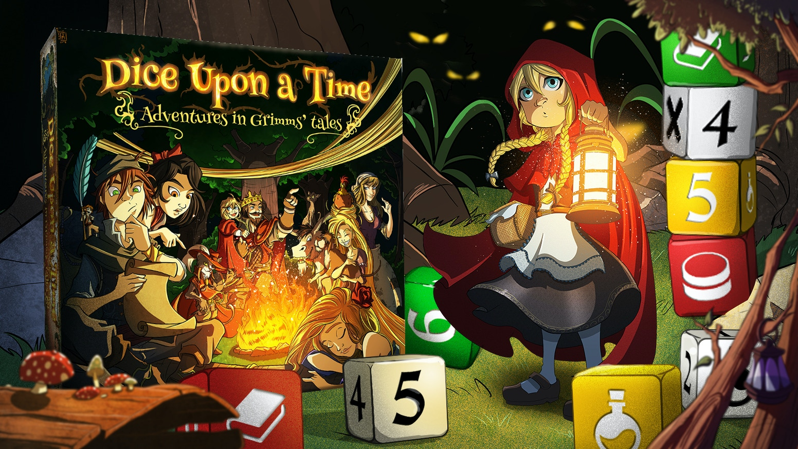 Adventures in Grimms' tales