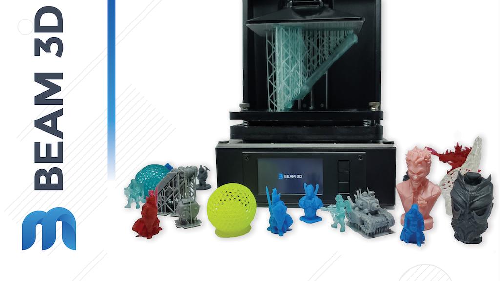 The Prism Desktop 3D Printer project video thumbnail