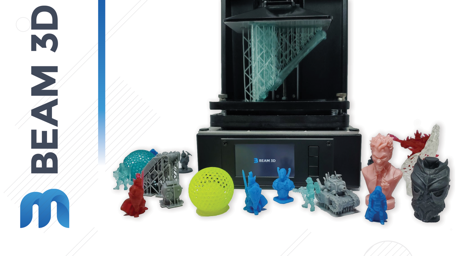 A  feature packed and easy to use UV Resin 3D Printer for less than $300.
