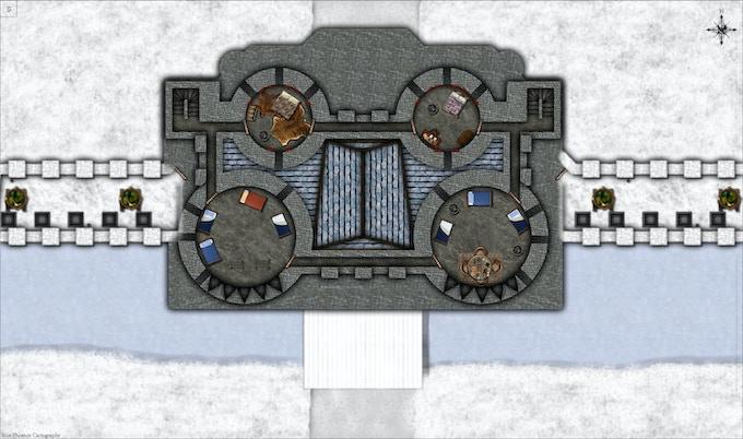 3rd floor, winter, day