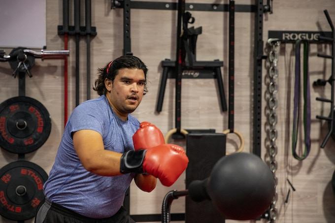 Commando boxing bag feel good. feel fit. feel ready! by commando