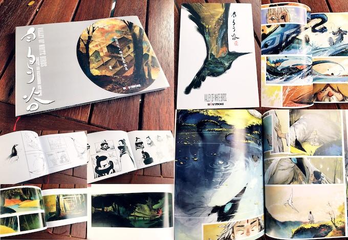 'Valley of White Birds' Concept Art Book + Graphic Novel