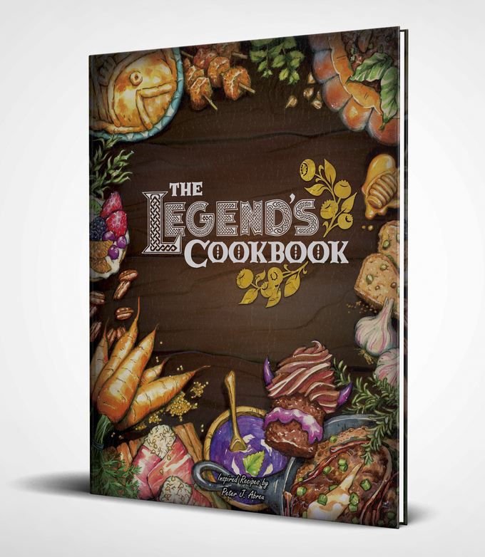 The Legend's Cookbook – Game-Inspired Recipes & Adventures by