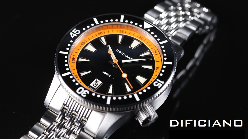 "Dificiano - The first automatic watch ""The Marlin"" project video thumbnail"