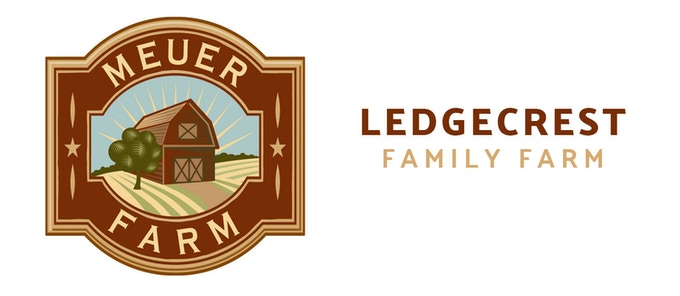 Our local partners –Meuer Farm (Chilton, WI) and Ledgecrest Family Farm (Greenleaf, WI)