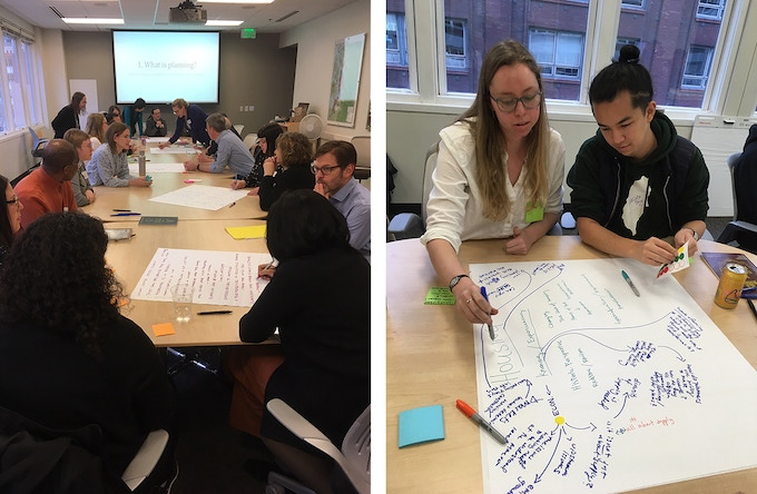 March 2019 community design workshop at the Puget Sound Regional Council, convened by the Youth In Planning Taskforce.