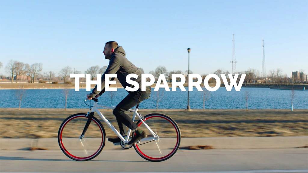 Sparrow: the perfect city bike. project video thumbnail