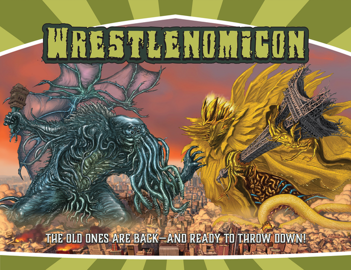 A card game of the Great Old Ones fighting over the end of the world. Cthulhu! Hastur! Only ONE can rule the apocalypse!