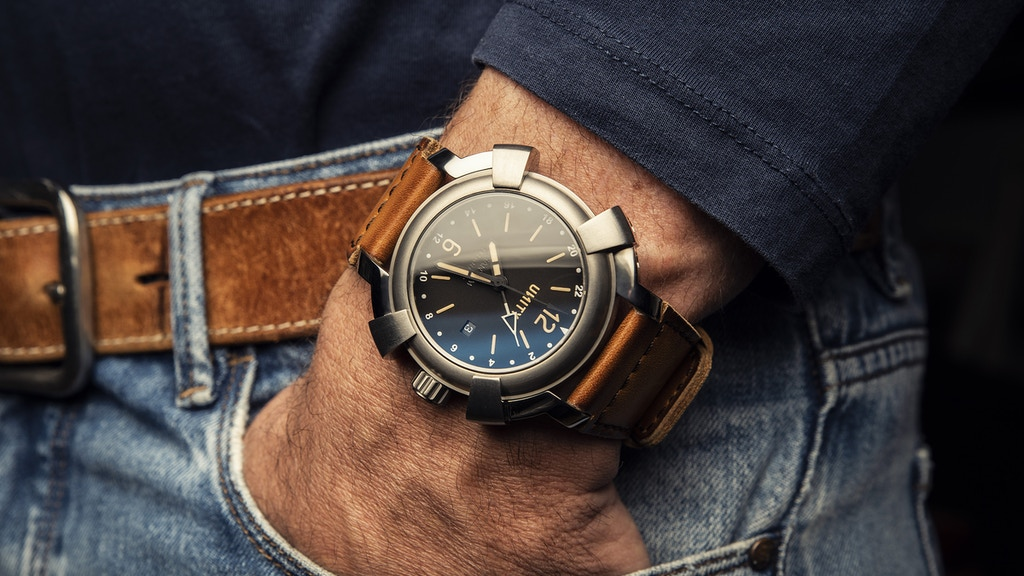 Titanium watch PHANTOM GMT - Swiss ETA 2893-2 project video thumbnail