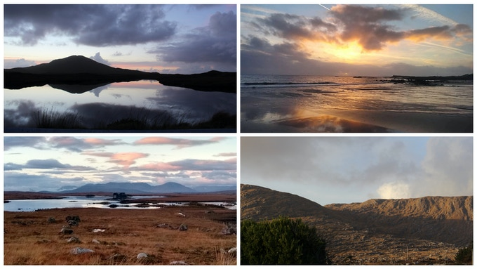 Connemara landscapes and seascapes captured by Dearbhaill Maedhbh