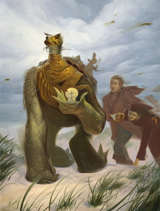 The Martles, long-lived travelers of the Tamarran Continent