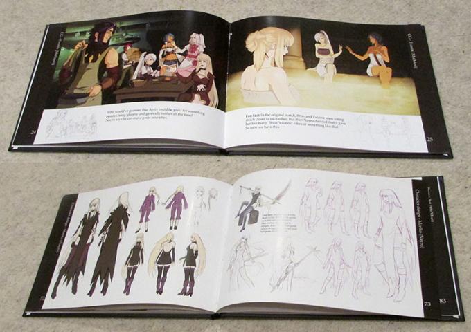 Our SoulSet artbook!