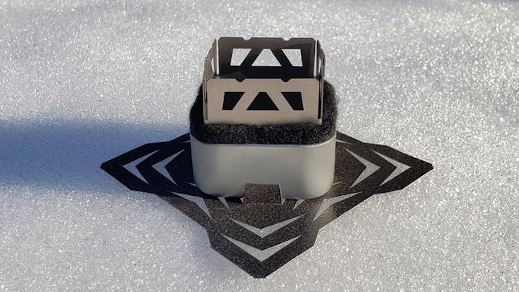 CORE Polar Titanium Micro Alcohol Stove by Chad Mueller — Kickstarter