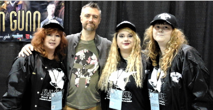 Scoffer Studios crew with Guardians of the Galaxy's Sean Gunn