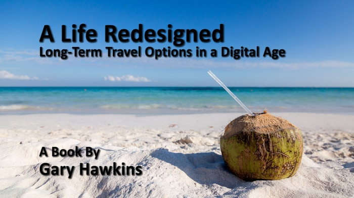 'A Life Redesigned' is an inspirational, fact-filled book examining the new and exciting travel and life opportunities thate are available in this digital age.