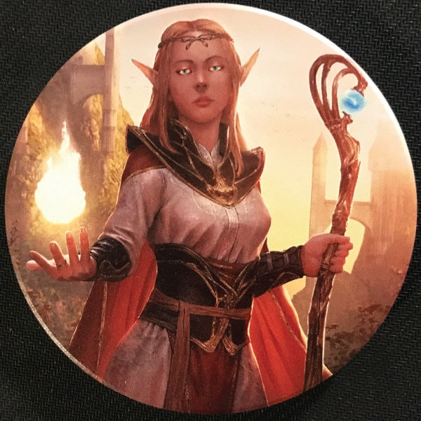 Photo of Elven Mage Coaster