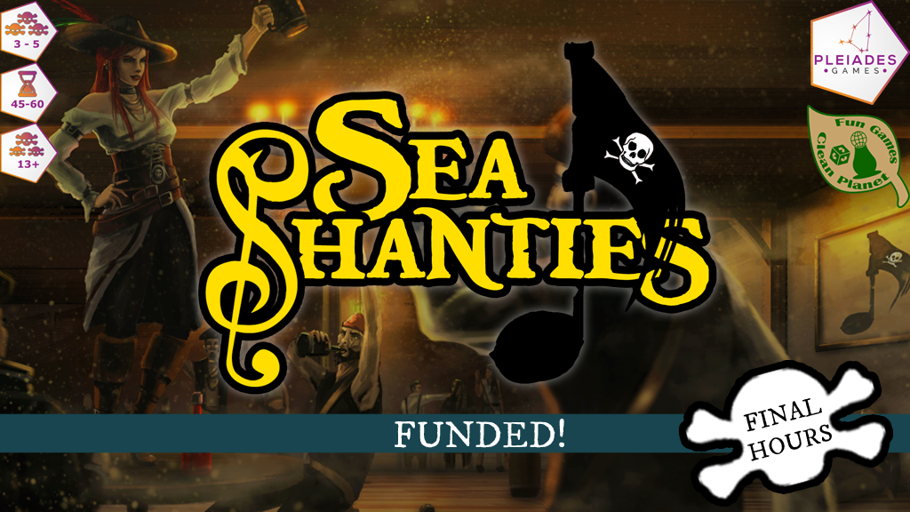 Sea Shanties: A Pirate-Centric Board Game project video thumbnail