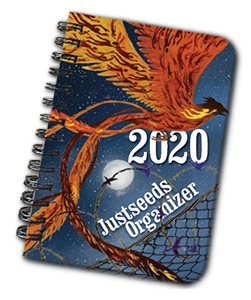 Comp of the 2020 Organizer cover. (Art by Jess X. Snow)